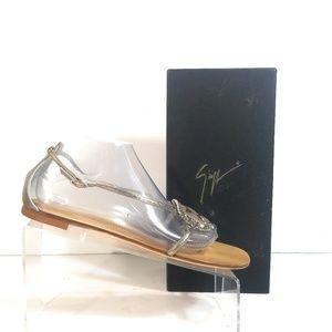 New Ziuseppe Zanotti Rhinestone Thong Sandals 41